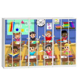 Motywy graficzne do mebli szkolnych