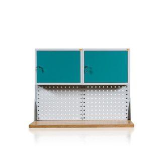 Nadstawki do stołów warsztatowych 2-modułowych