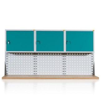 Nadstawki do stołów warsztatowych 3 – modułowych